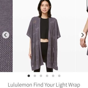 Lululemon Wrap